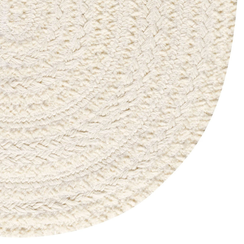 Bayview Lambswool Braided Rug Oval Corner image