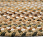Homecoming River Rock Braided Rug Oval Cross Section image