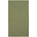 Heathered Sage Green Braided Rug Concentric image