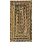 Gramercy Gold Braided Rug Concentric image