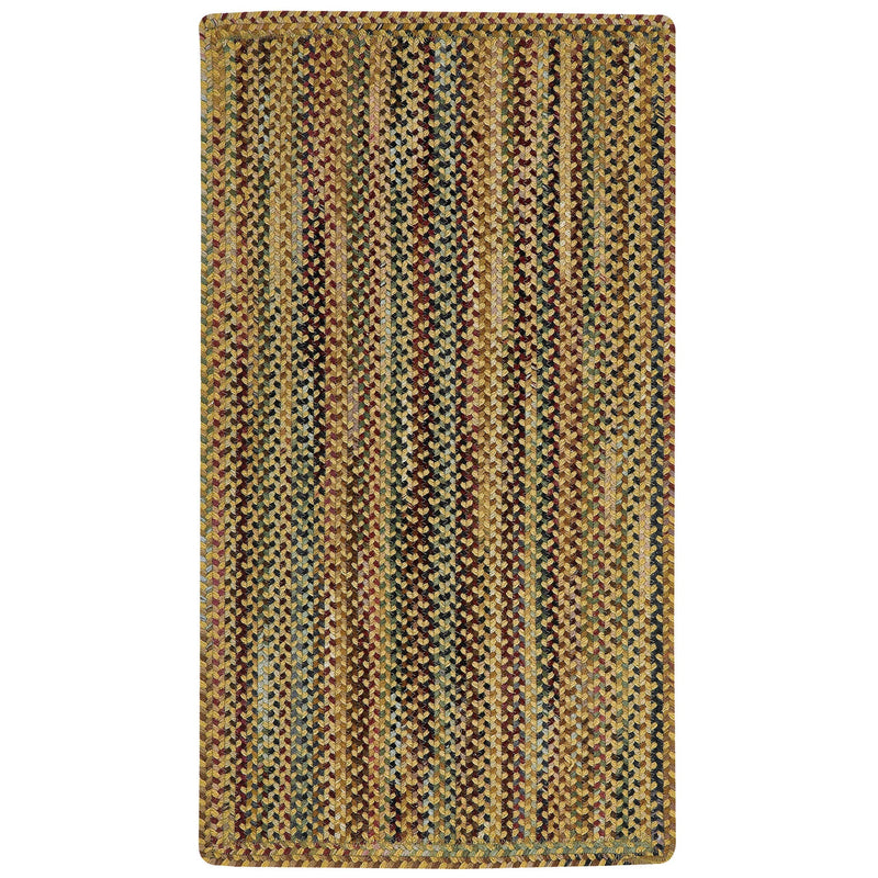 Gramercy Gold Braided Rug Rectangle image