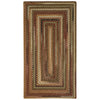 Gramercy Tan Braided Rug Concentric image