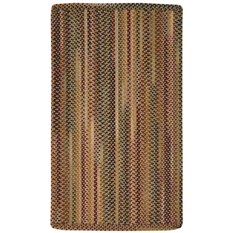Gramercy Tan Braided Rug Rectangle image