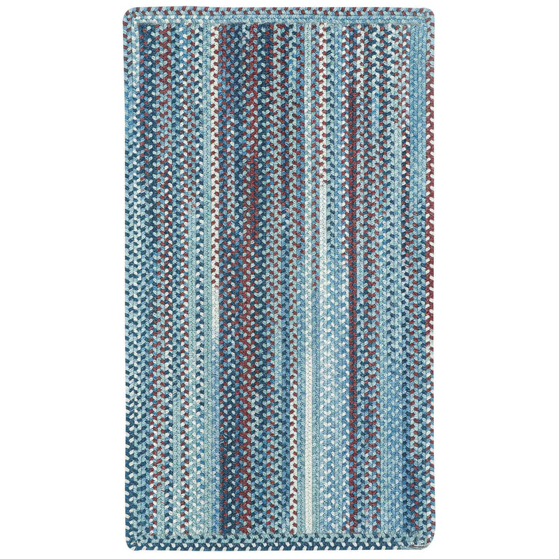 American Legacy Old Glory Braided Rug Rectangle image
