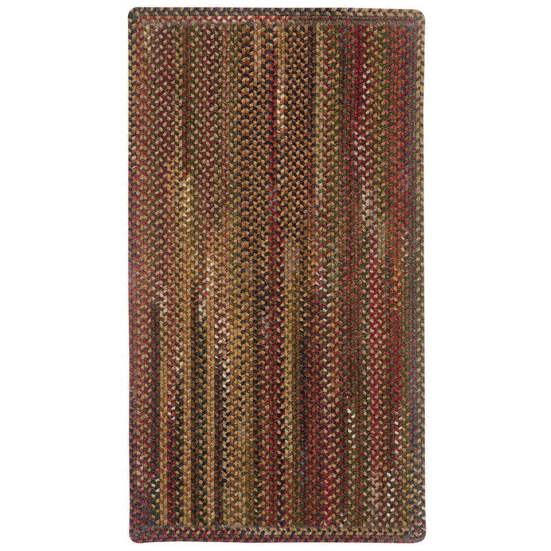 American Legacy Antique Multi Braided Rug Rectangle image