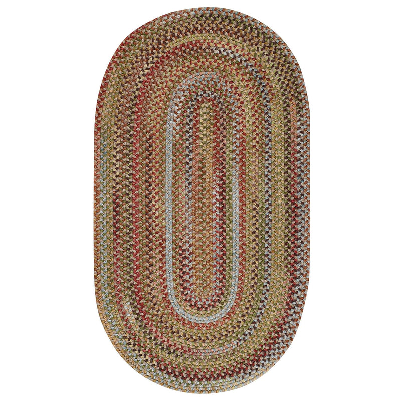 American Legacy Tuscan Braided Rug Oval image