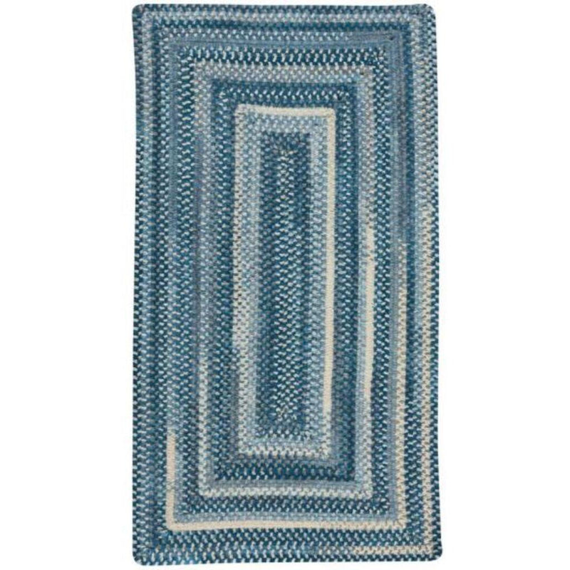 Synergy Chambray Braided Rug Concentric image