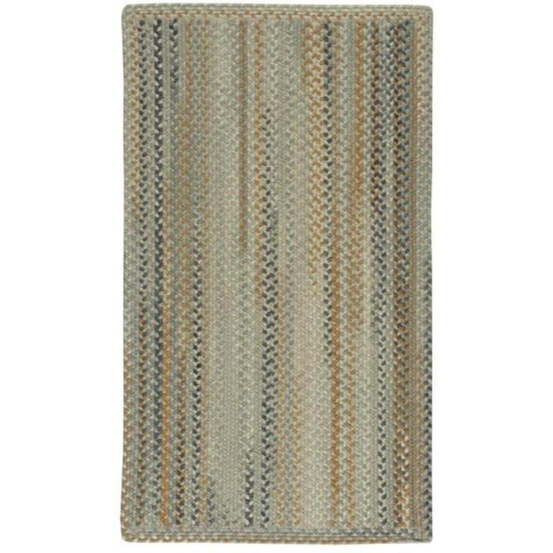 Fusion Desert Taupe Braided Rug Rectangle image