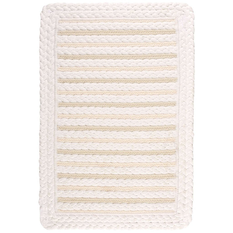 Hammock Sea Salt Braided Rug Cross-Sewn image