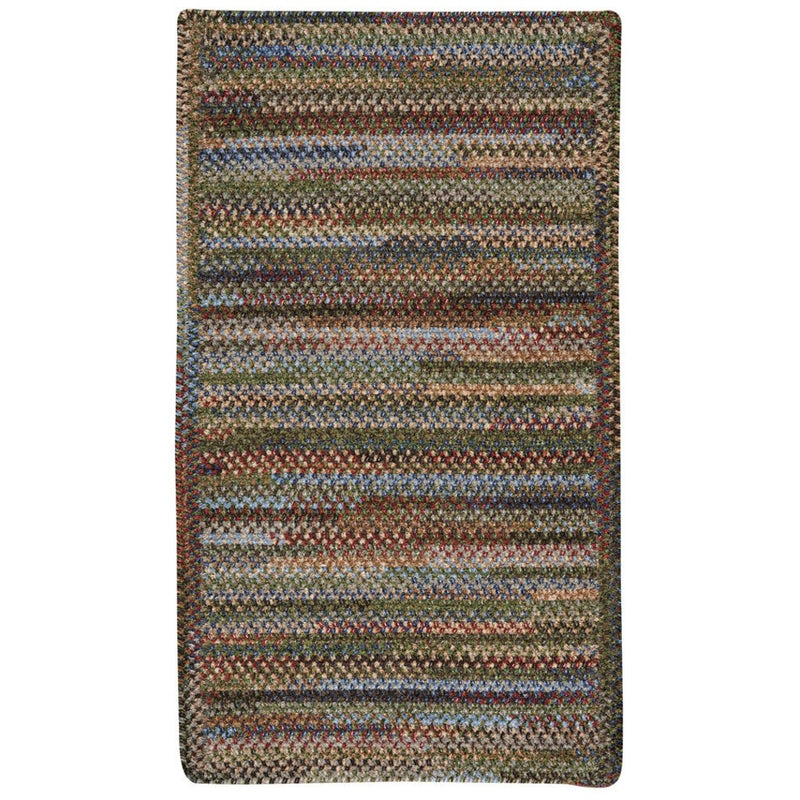 New Homestead Multi Braided Rug Cross-Sewn image