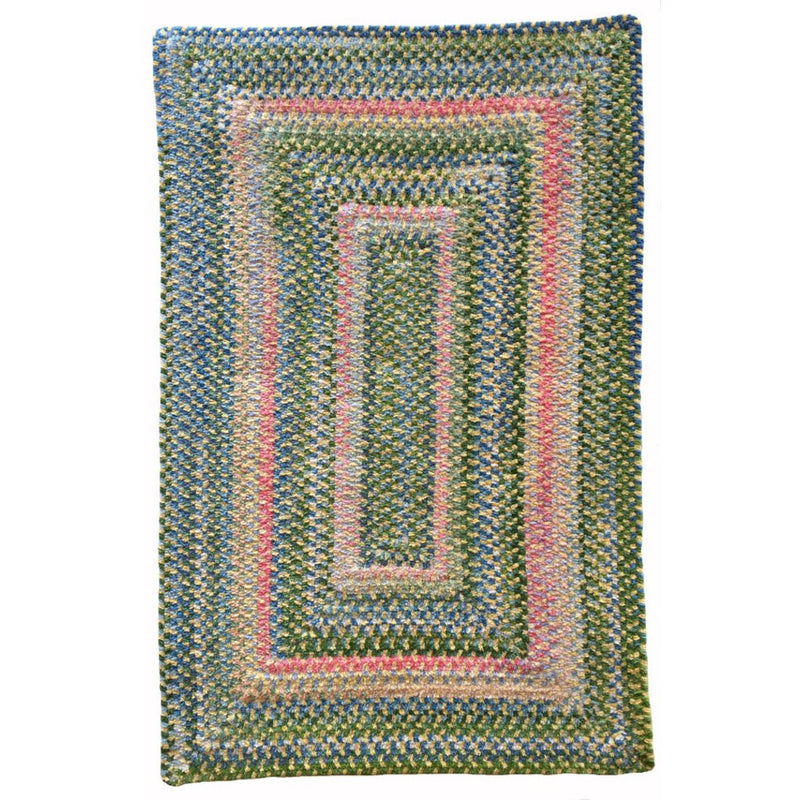 Bailey Sprout Braided Rug Concentric image