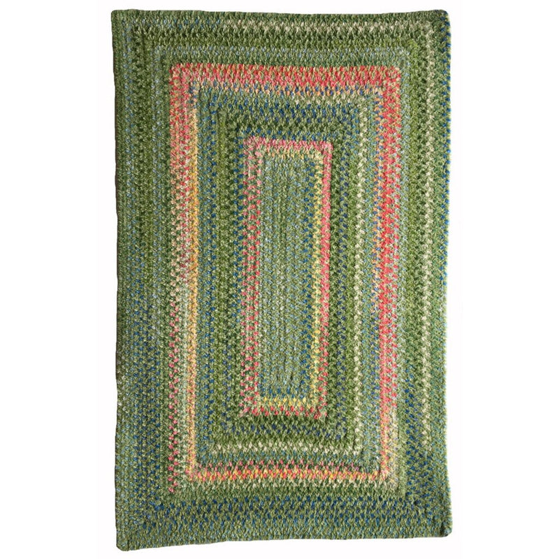 Bailey Greenhouse Braided Rug Concentric image
