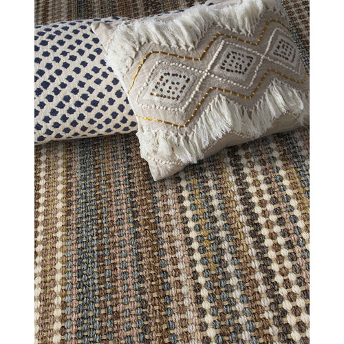 Hampton Flagstone Flat Woven Rug Rectangle Roomshot image