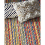 Hampton Beach Party Flat Woven Rug Rectangle Roomshot image
