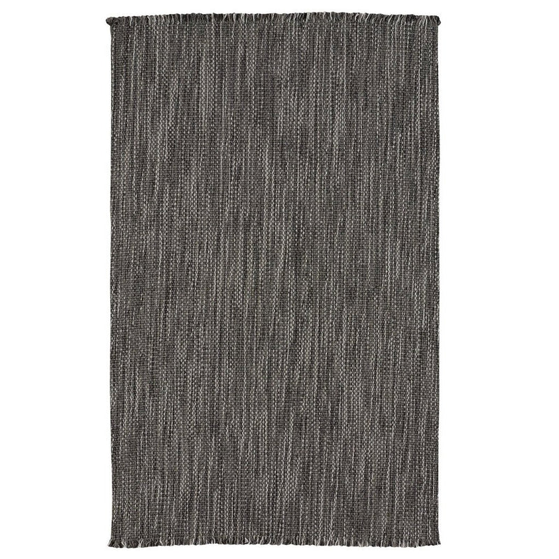 Seagrove Steel Flat Woven Rug Rectangle image