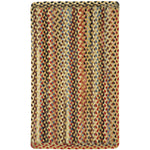 Plymouth Light Gold Braided Rug Rectangle image