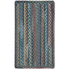 Plymouth Colony Blue Braided Rug Rectangle image