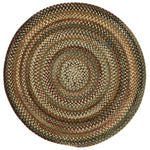 Cambridge New Leaf Braided Rug Round image
