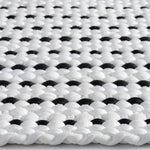 Novato White Black Machine Woven Rug Rectangle Cross Section image