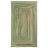 Bear Creek Sage Braided Rug Concentric image