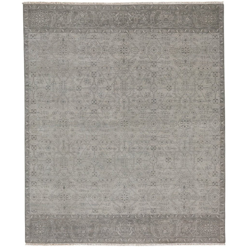 Palisade Stone Hand Knotted Rug Rectangle image