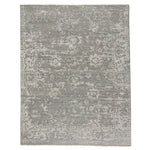 Makrana Grey Hand Knotted Rug Rectangle image