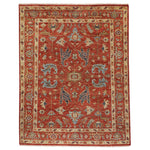Charise-Ushak Scarlet Hand Knotted Rug Rectangle image