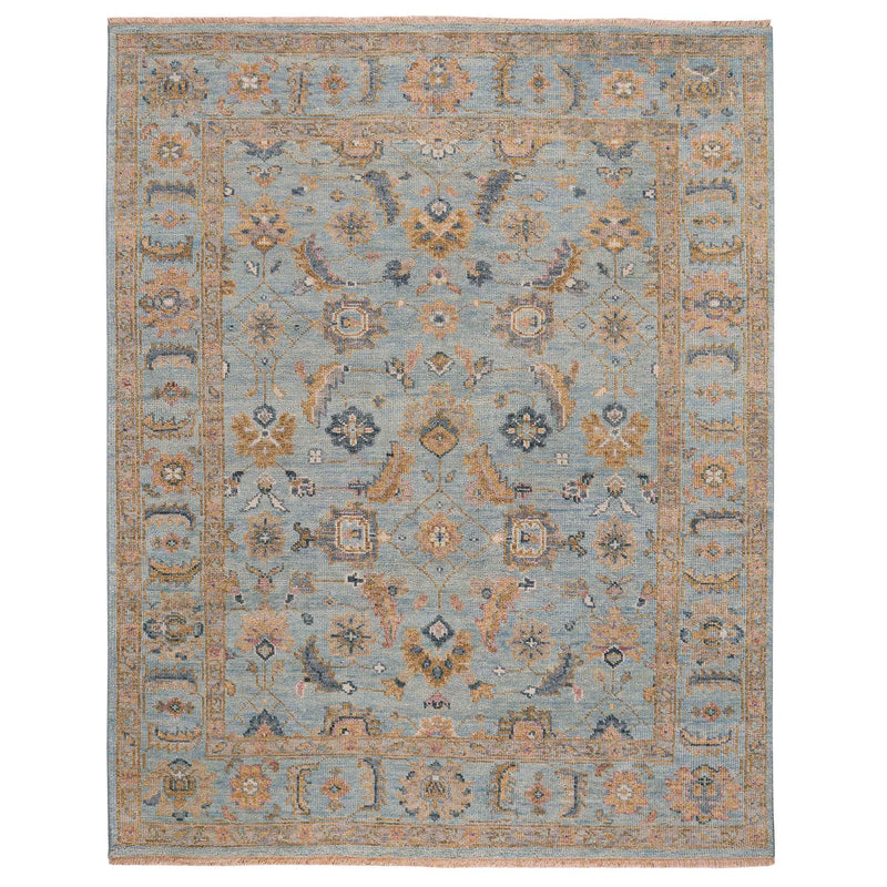 Braymore-Wilona Ice Blue Hand Knotted Rug Rectangle image