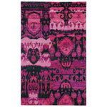 Carousel-Juggler Cotton Candy Hand Knotted Rug Rectangle image