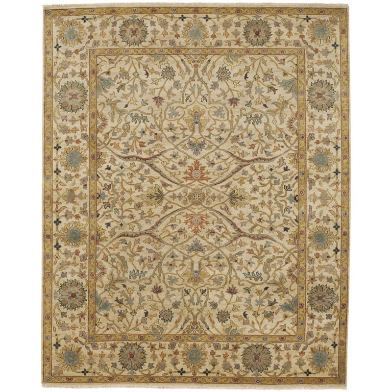 Yazzie Champagne Hand Knotted Rug Rectangle image