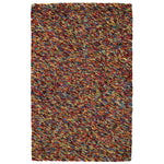 Pebbles Gumballs Hand Knotted Rug Rectangle image