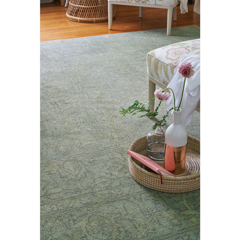 Barletta Seafoam Hand Knotted Rug Rectangle image