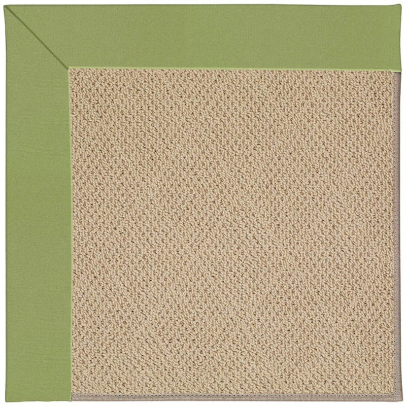 Creative Concepts-Cane Wicker Canvas Citron Machine Tufted Rug Runner image