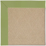 Creative Concepts-Cane Wicker Canvas Citron Machine Tufted Rug Rectangle image