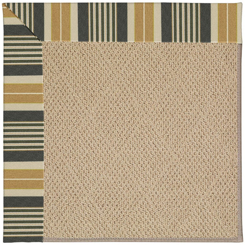 Creative Concepts-Cane Wicker Long Hill Ebony Machine Tufted Rug Runner image