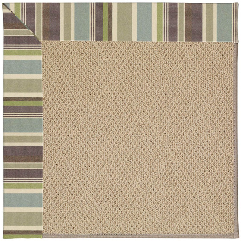 Creative Concepts-Cane Wicker Brannon Whisper Machine Tufted Rug Runner image