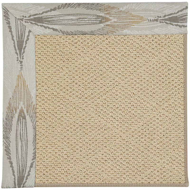 Creative Concepts-Cane Wicker Empress Grain Machine Tufted Rug Rectangle image
