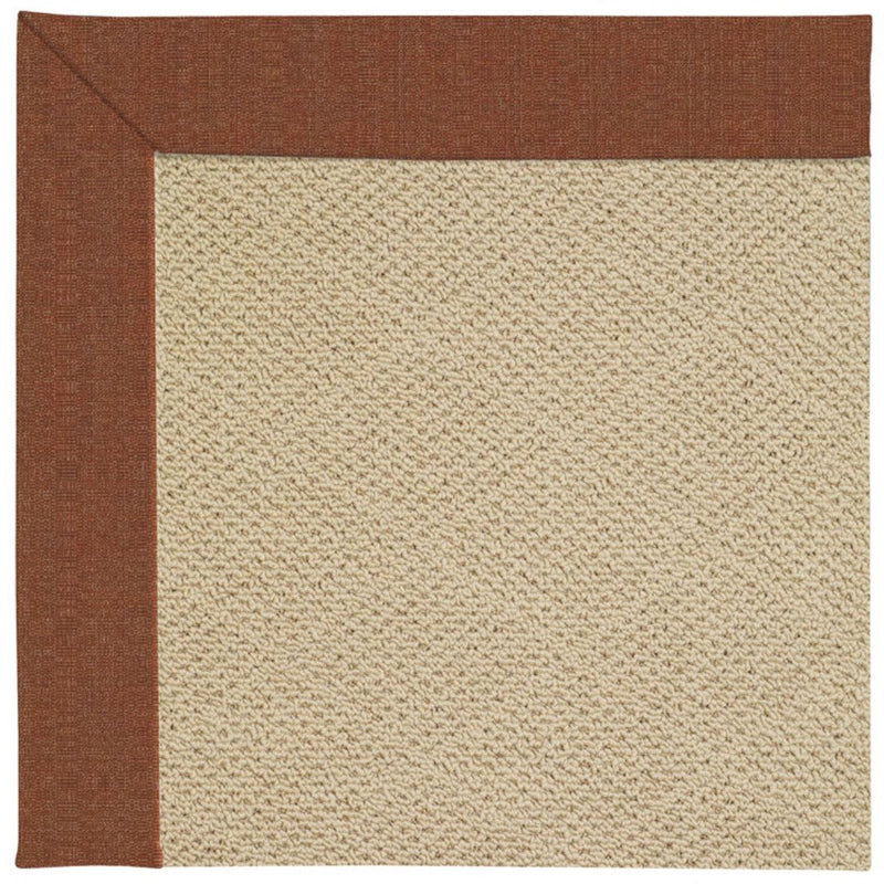 Creative Concepts-Cane Wicker Linen Chili Machine Tufted Rug Runner image