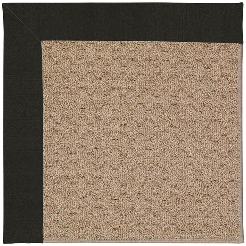 Creative Concepts-Grassy Mtn. Canvas Black Machine Tufted Rug Rectangle image