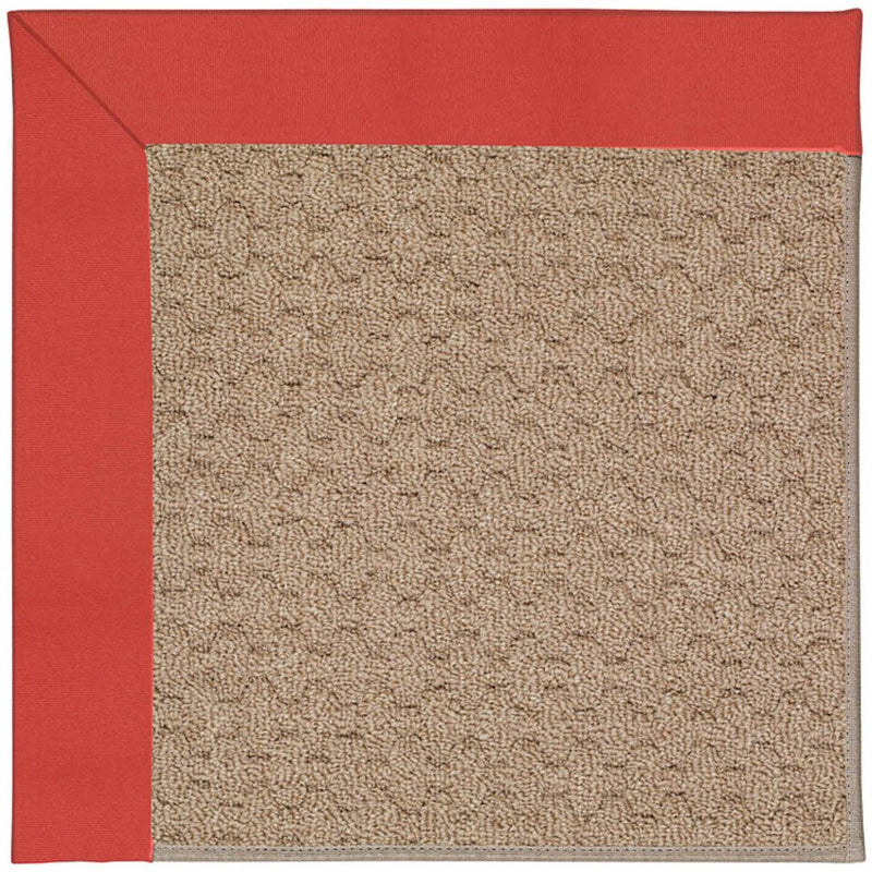Creative Concepts-Grassy Mtn. Canvas Paprika Machine Tufted Rug Rectangle image