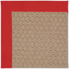 Creative Concepts-Grassy Mtn. Canvas Jockey Red Machine Tufted Rug Runner image