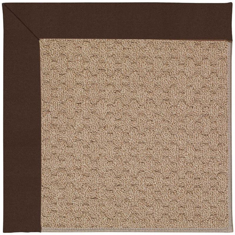Creative Concepts-Grassy Mtn. Canvas Bay Brown Machine Tufted Rug Rectangle image