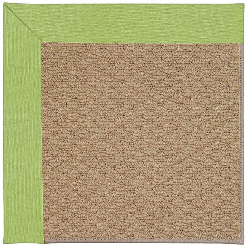 Creative Concepts-Raffia Canvas Parrot Machine Tufted Rug Rectangle image