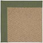 Creative Concepts-Raffia Canvas Fern Machine Tufted Rug Runner image