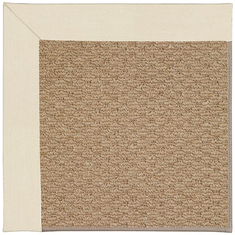 Creative Concepts-Raffia Canvas Sand Machine Tufted Rug Runner image