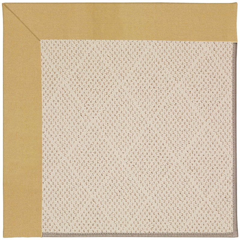 Creative Concepts-White Wicker Canvas Wheat Machine Tufted Rug Rectangle image