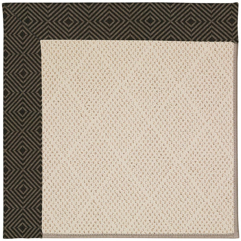 Creative Concepts-White Wicker Fortune Lava Machine Tufted Rug Rectangle image