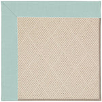 Creative Concepts-White Wicker Canvas Glacier Machine Tufted Rug Rectangle image