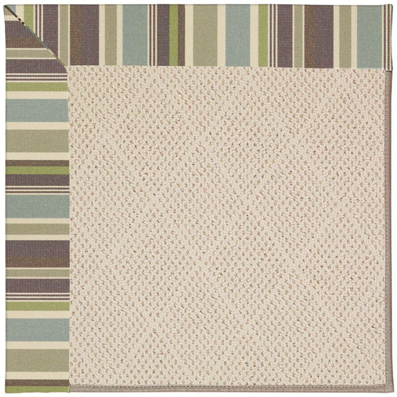 Creative Concepts-White Wicker Brannon Whisper Machine Tufted Rug Runner image