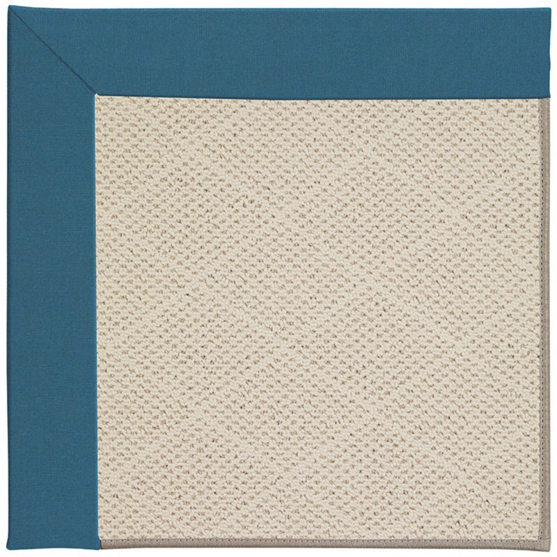 Creative Concepts-White Wicker Spectrum Peacock Machine Tufted Rug Rectangle image